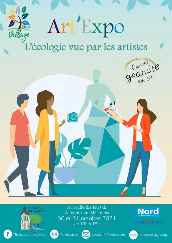 Affiche a4 art expo