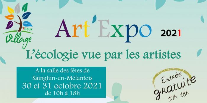 Affiche art expo 20x10 1
