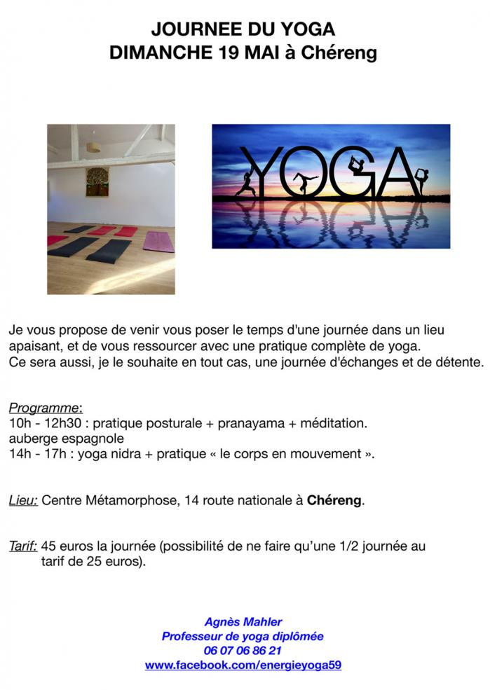 Journe e yoga 19 mai