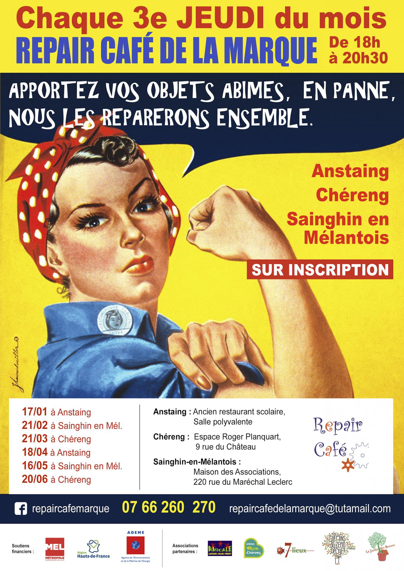 Repair cafe marque affiche web 2019