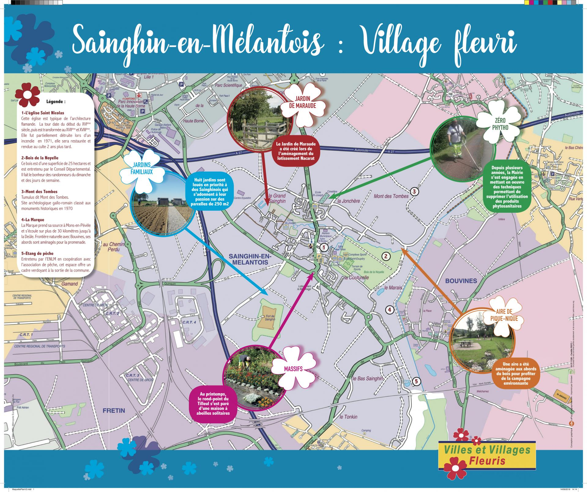 Sainghinvillagefleuriplan
